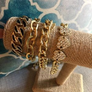 Bundle of 4 bracelet!
